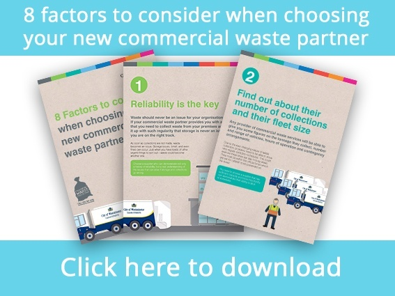 new commercial waste supplier