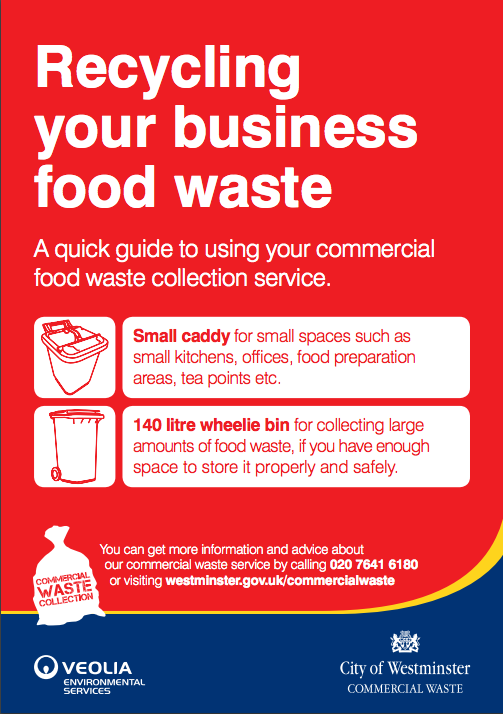 food waste recycling in london