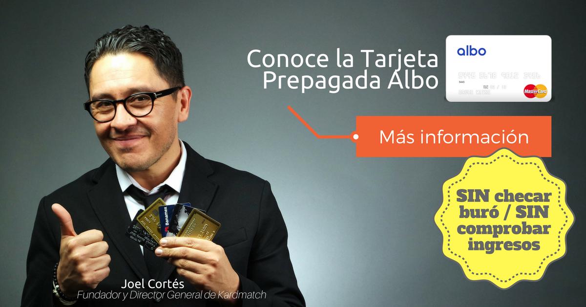 Conocer Tarjeta Albo