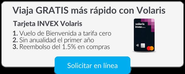 Tarjeta Volaris INVEX