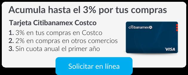Tarjeta Citibanamex Costco Visa