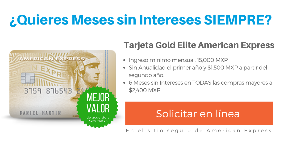 Tarjeta Gold Elite American Express Review