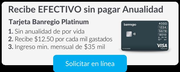 Tarjeta Platinum BanRegio
