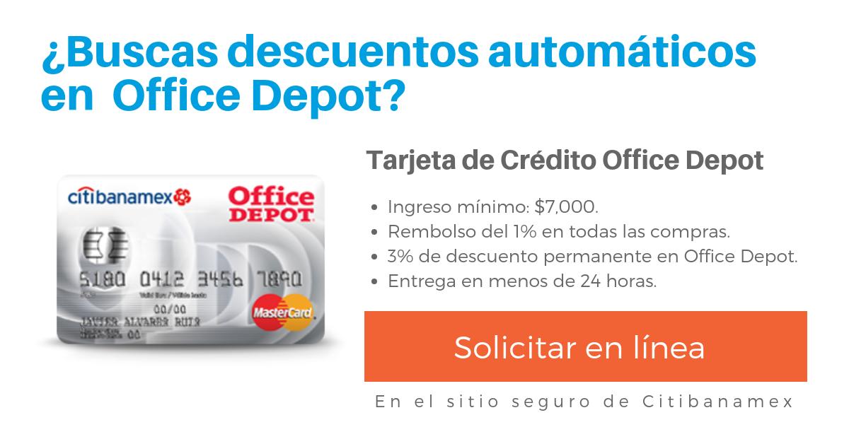 Tarjeta Office Depot