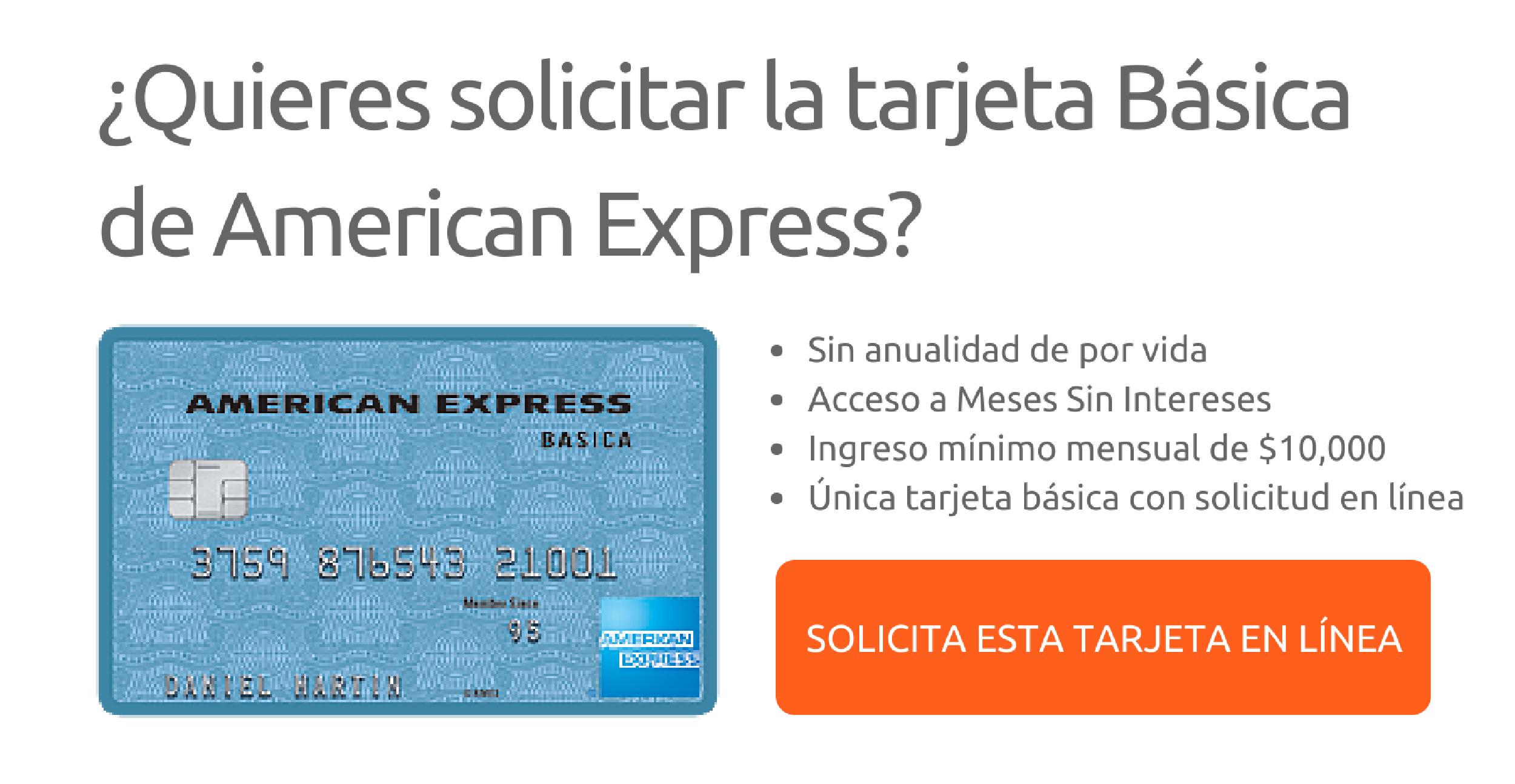 Tarjeta American Express Basica