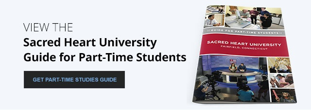 Sacred Heart University Guide for Part-Time Students