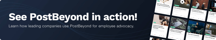 PostBeyond employee advocacy