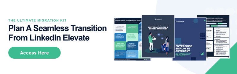 LinkedIn Elevate Transition Guide