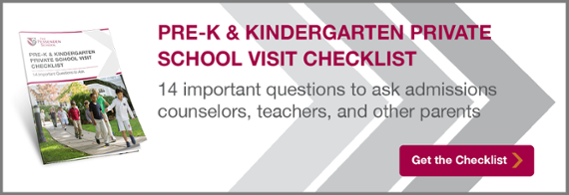 Download the Pre-K & Kindergarten Private School Visit Checklist