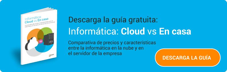 Guía gratuita: Informática cloud vs en local