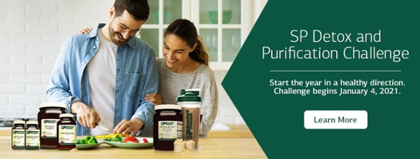 Start the year in a healthy direction with the SP Detox & Purification Challenge.