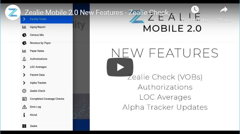 Zealie Mobile Demo Video
