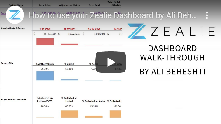 Zealie Dashboard Walk-Through by Ali Beheshti