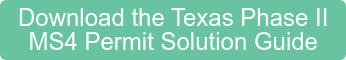 Download the Texas Phase II MS4 Permit Solution Guide