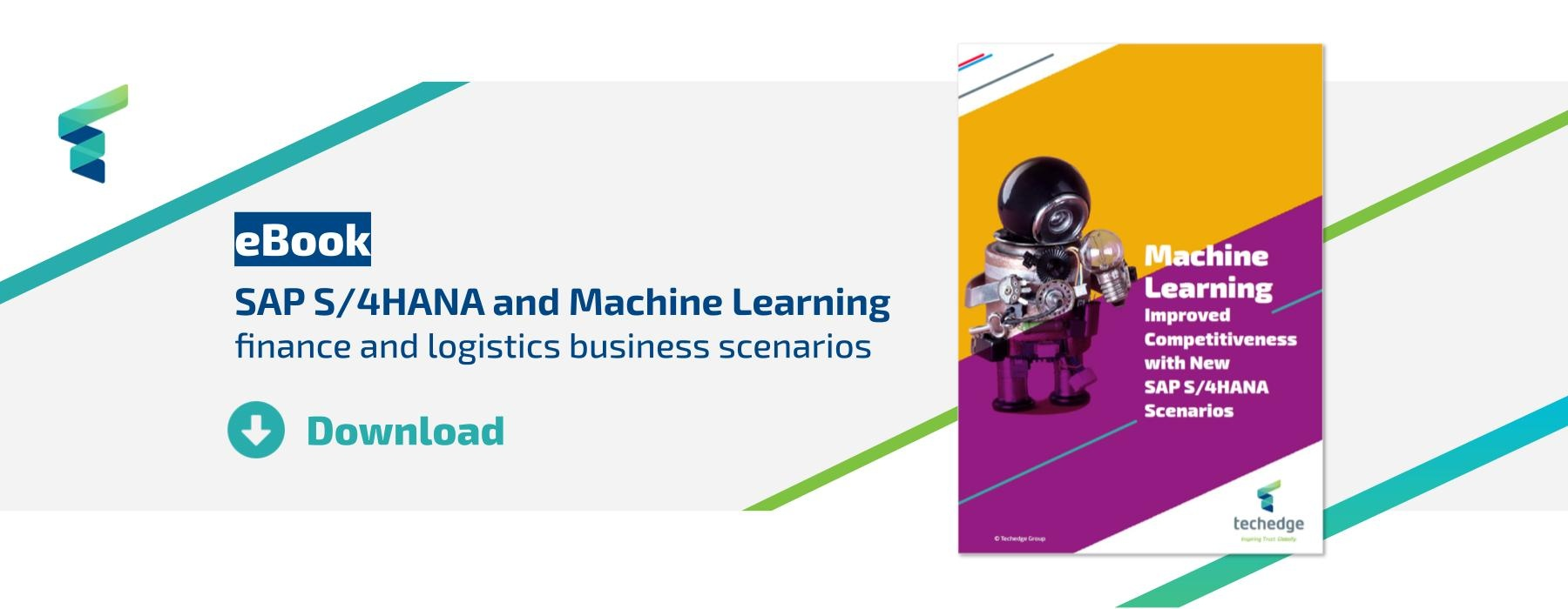 download the ebook on SAP S/4HANA and Machine Learning