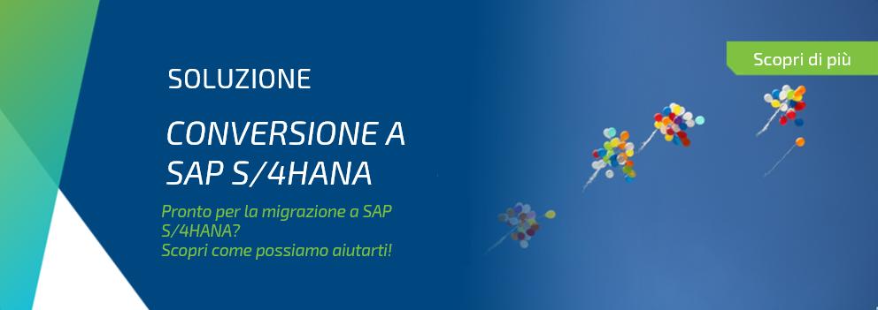 Conversione a SAP/S4HANA
