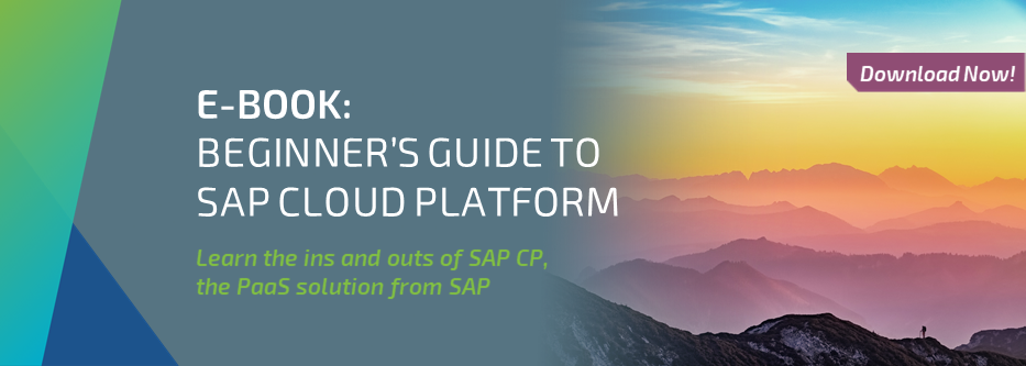 E-Book: Beginner's guide to SAP Cloud Platform