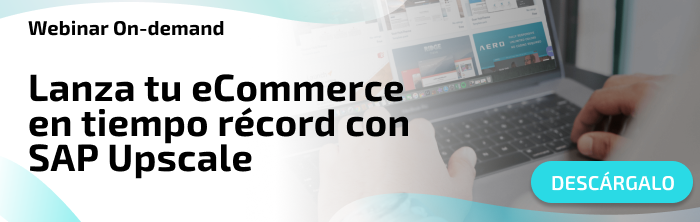 Lanza tu ecommerce en tiempo récord con SAP Upscale