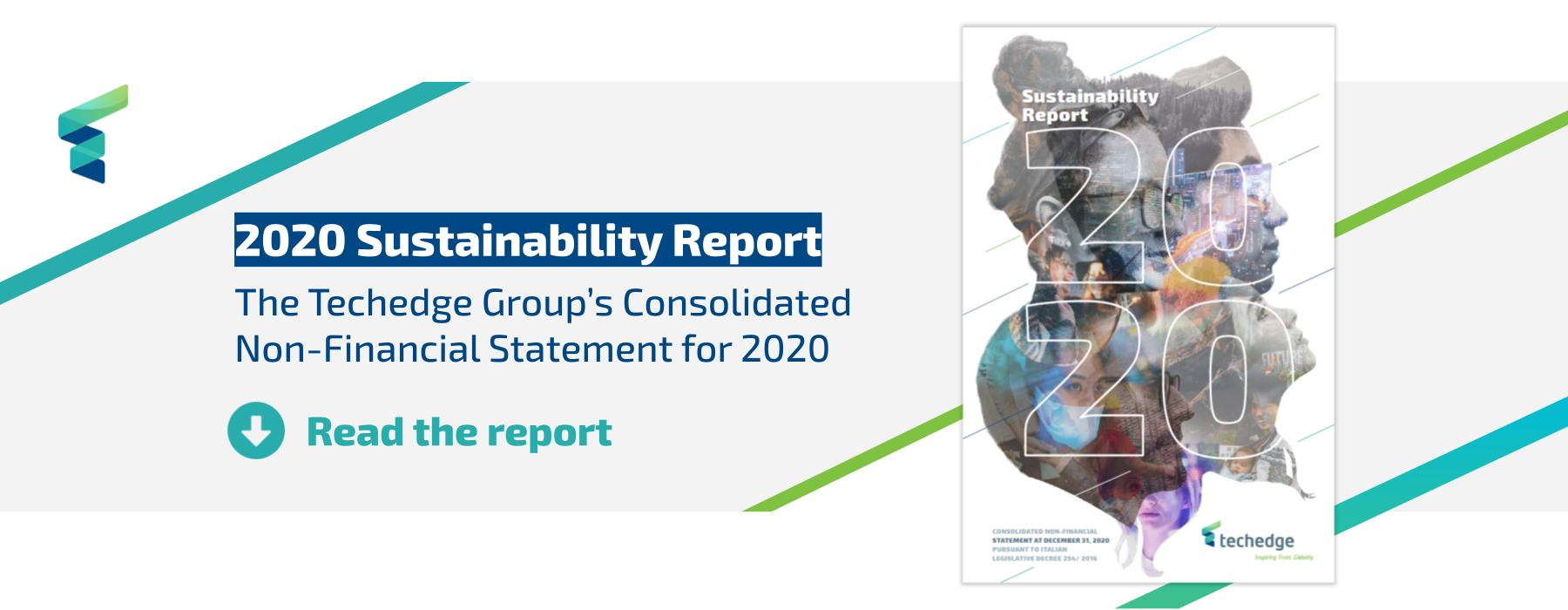Read our 2020 Non-Financial Statement