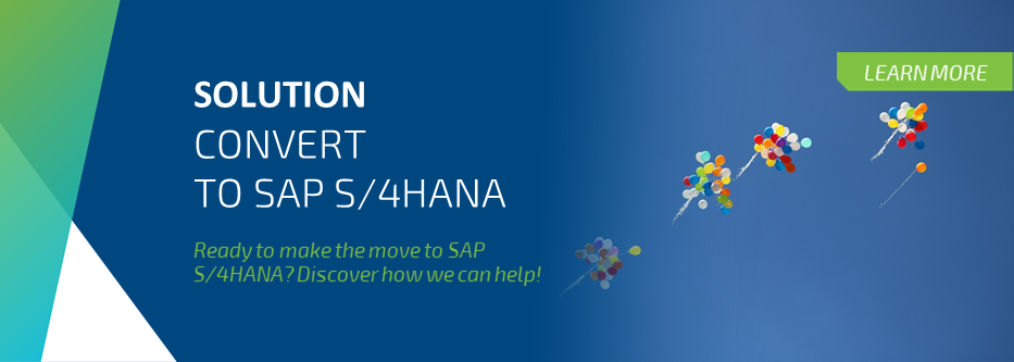 Convert to SAP S/4HANA