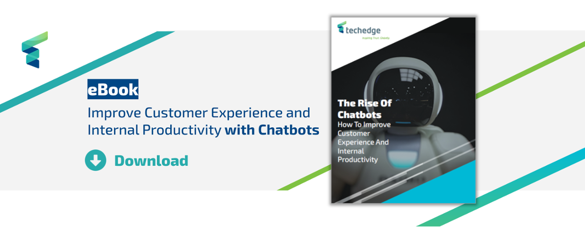 Download the Ebook: improve customer experience and productivity with chatbots