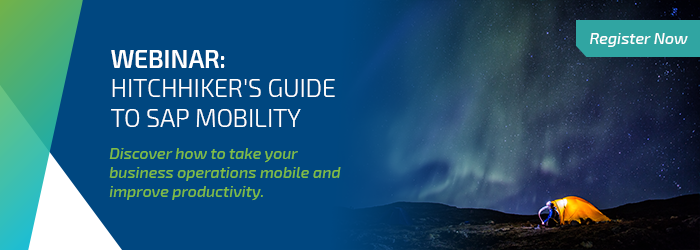 Webinar: Hitchhiker's guide to SAP Mobility