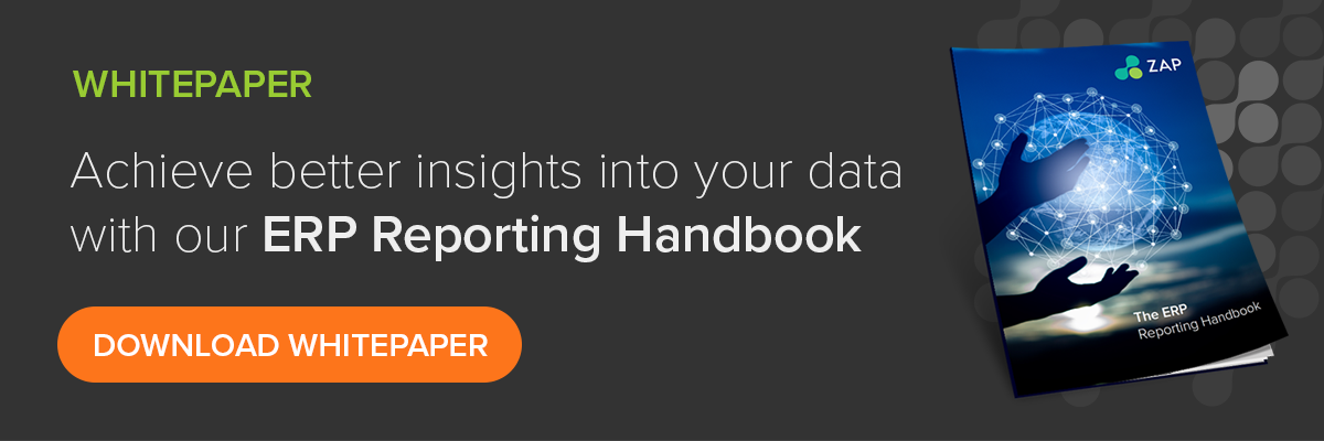 Achieve better insights into your data with our ERP Reporting Handbook