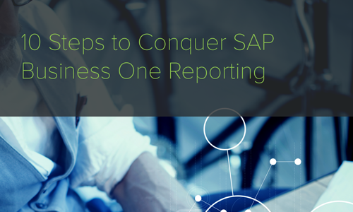 10 Steps to Conquer SAP B1 Reporting