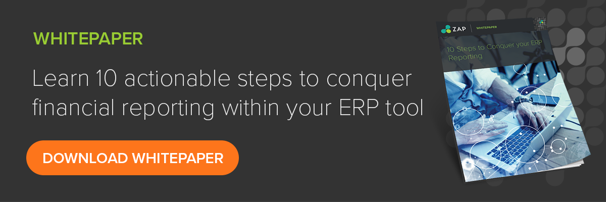 10 steps to conquer your financial ERP reporting