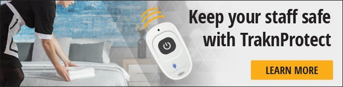 Keep your staff safe with TraknProtect