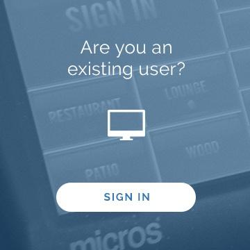 existing user? sign into ameego here