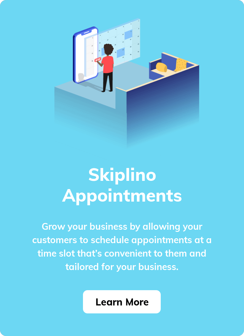 Skiplino Appointments