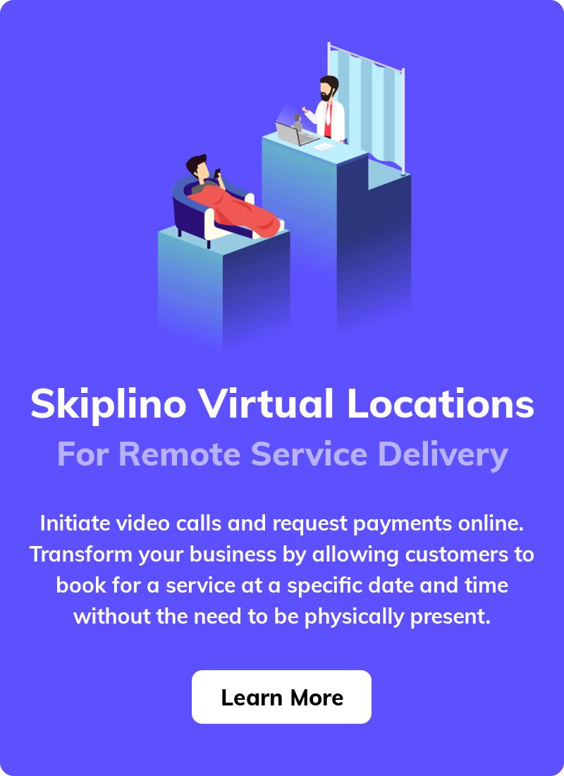 Skiplino Virtual Locations