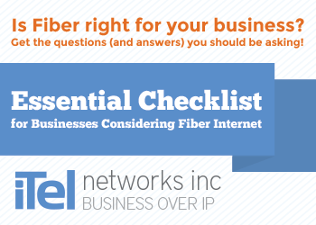 Is Fiber right for your company? Get the essential checklist for businesses considering fiber internet now!