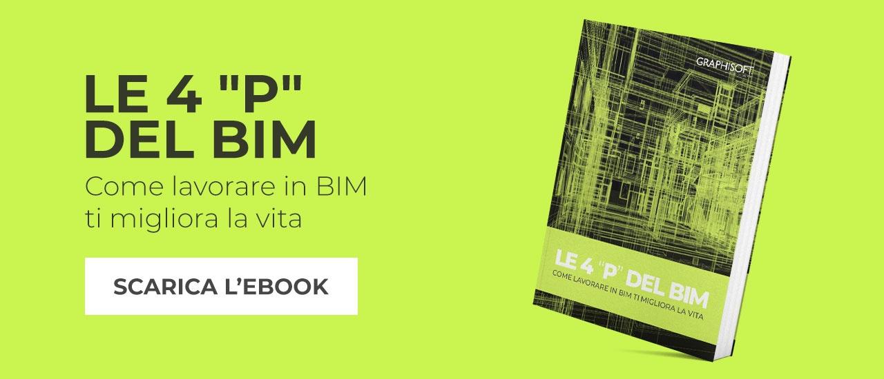 """Le 4 """"P"""" del BIM, scarica l'ebook che ti spiega come lavorare in BIM ti migliora la vita"""