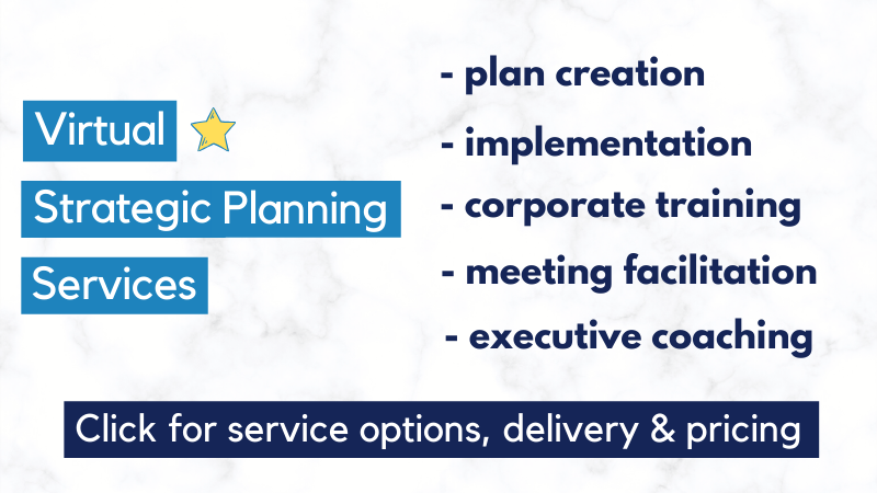 Virtual strategic planning services - SME Strategy