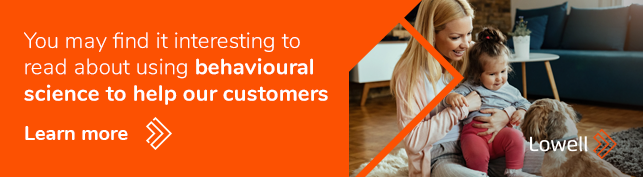 behavioural science to help our customers