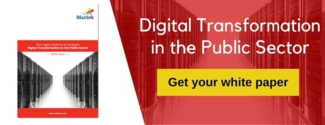 Digital Transformation in the Public Sector - get your white paper