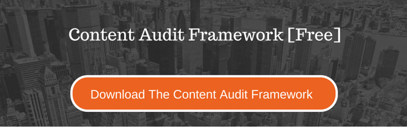 Download the Content Audit Framework Now!