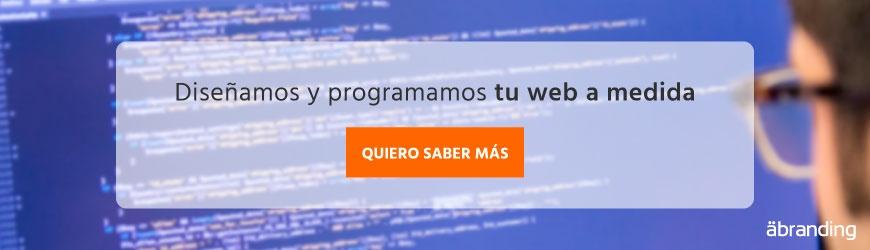 Diseñamos y programamos tu web a medida
