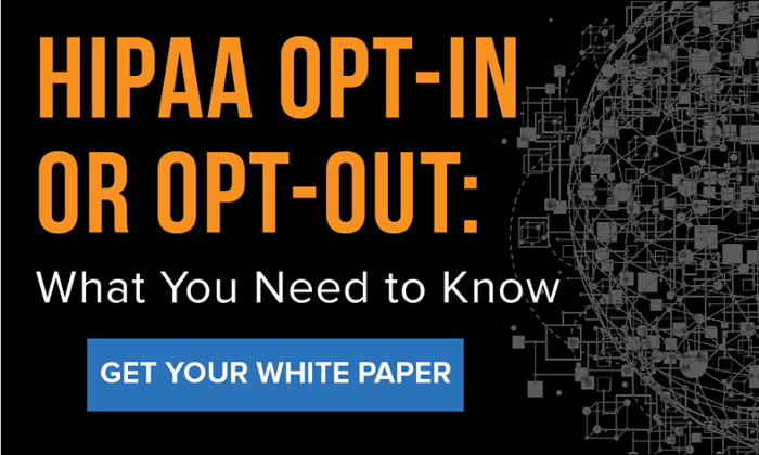 Download the white paper on HIPAA and opt-out emails.