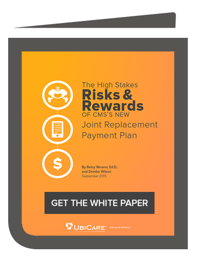 White Paper: CCJR Joint Replacement Payment Plan
