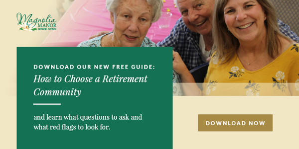 How to Choose a Retirement Community