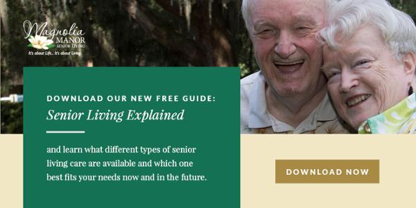 senior living explained