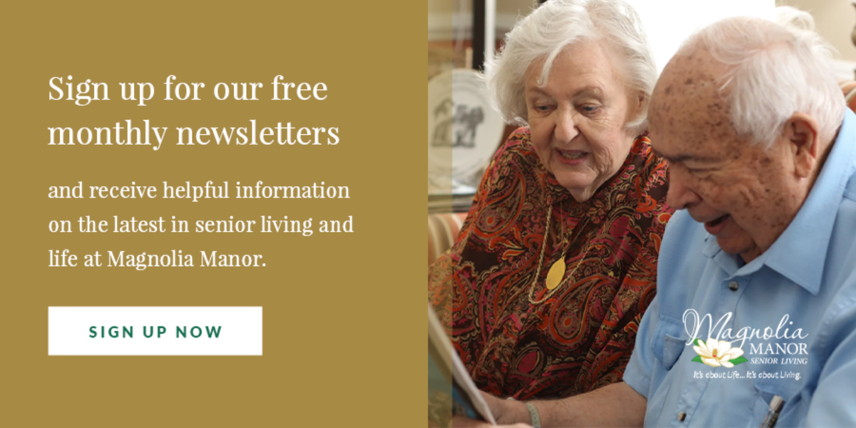 Best Senior Living Newsletter