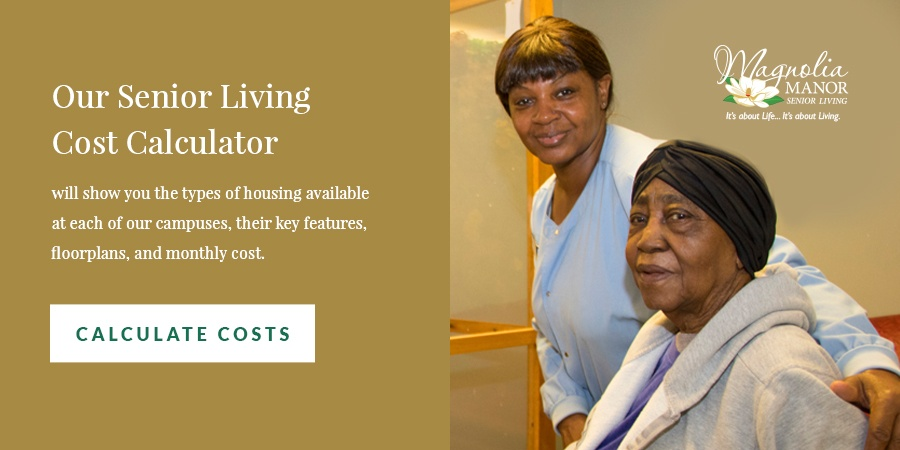 Senior Living Cost Calculator