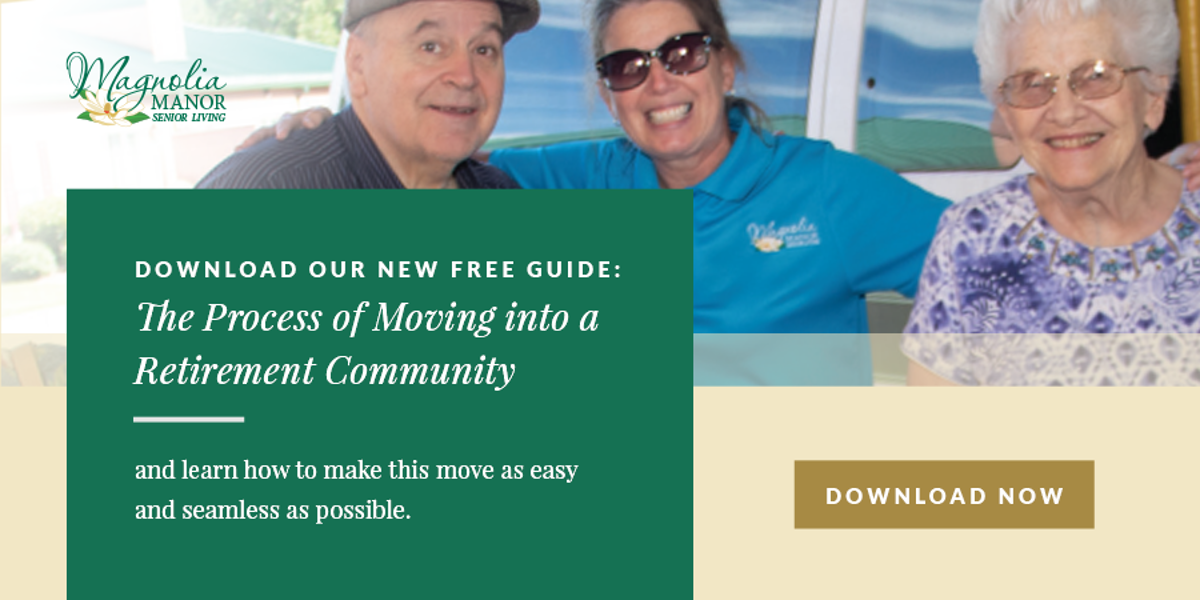 The Process of Moving to Senior Living
