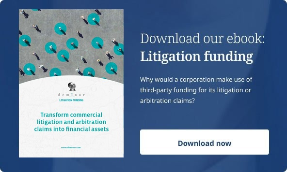 Download our ebook Litigation funding