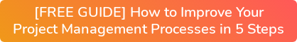 [FREE GUIDE] How to Improve Your Project Management Processes in 5 Steps