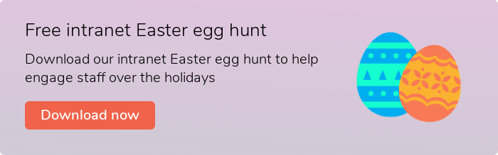 Free Easter Egg Hunt  Download our free Easter Egg Hunt to help engage staff over the holidays  Download now